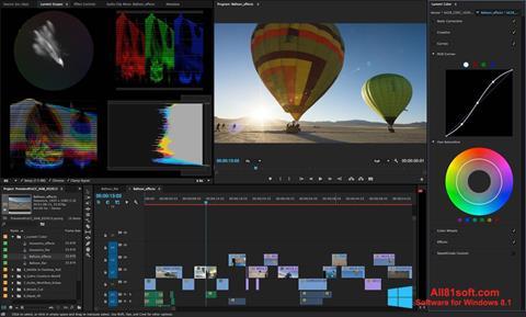 Ekraanipilt Adobe Premiere Pro Windows 8.1