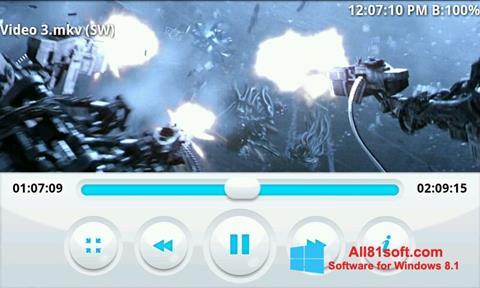Ekraanipilt BSPlayer Windows 8.1