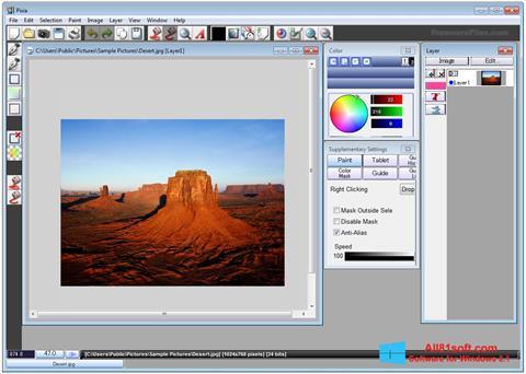 Ekraanipilt Pixia Windows 8.1