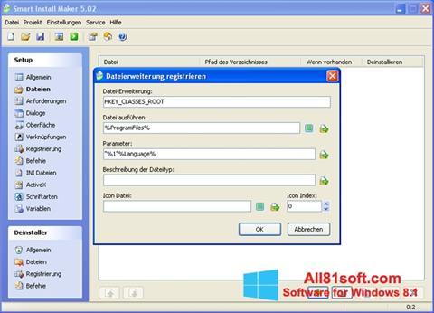 Ekraanipilt Smart Install Maker Windows 8.1