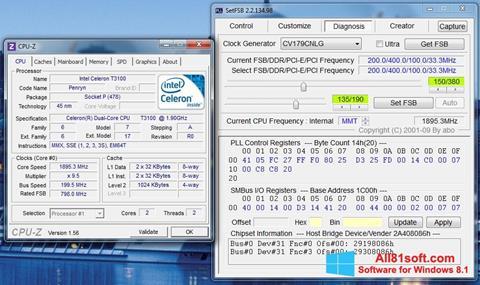 Ekraanipilt SetFSB Windows 8.1