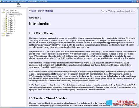 Ekraanipilt Java Virtual Machine Windows 8.1