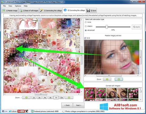 Ekraanipilt Photo Collage Maker Windows 8.1