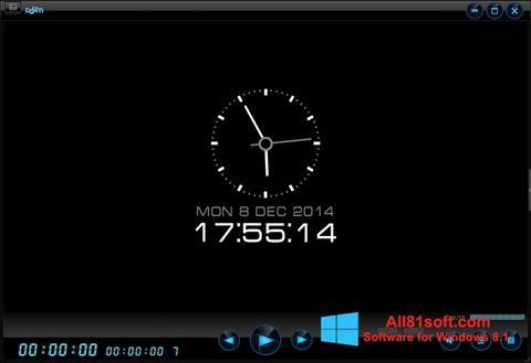 Ekraanipilt Daum PotPlayer Windows 8.1