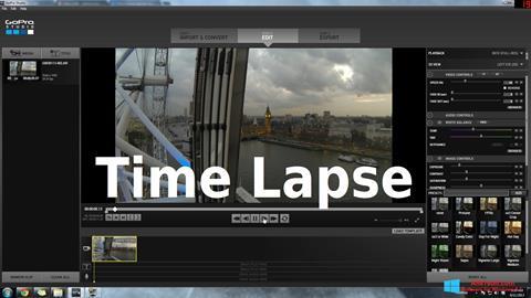 Ekraanipilt GoPro Studio Windows 8.1