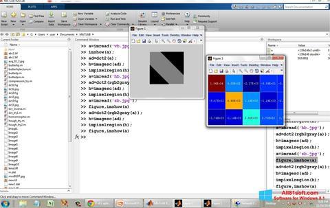 Ekraanipilt MATLAB Windows 8.1