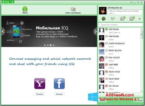 Ekraanipilt ICQ Windows 8.1