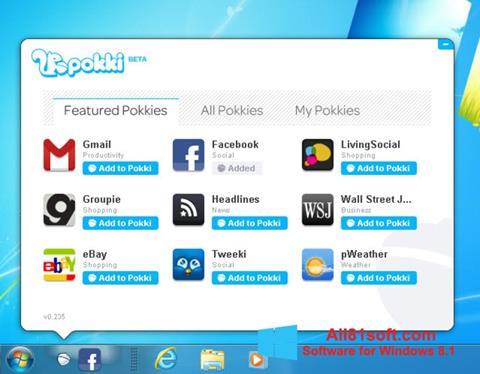 Ekraanipilt Pokki Windows 8.1