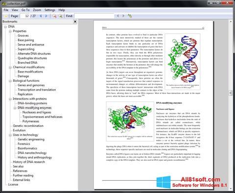 Ekraanipilt Sumatra PDF Windows 8.1