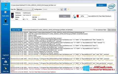 Ekraanipilt FlashBoot Windows 8.1