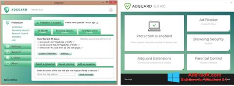 Ekraanipilt Adguard Windows 8.1