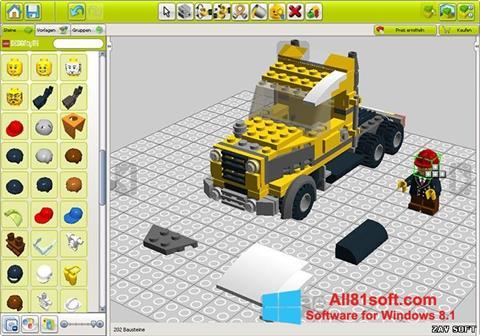 Ekraanipilt LEGO Digital Designer Windows 8.1
