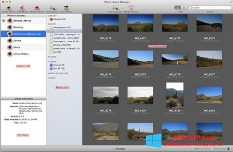 Ekraanipilt iPhoto Windows 8.1