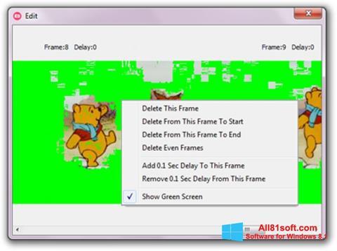 Ekraanipilt GifCam Windows 8.1