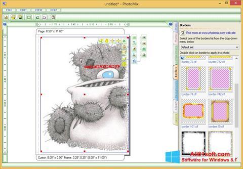 Ekraanipilt PhotoMix Collage Windows 8.1