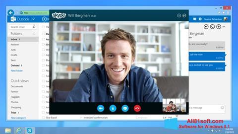 Ekraanipilt Skype Windows 8.1